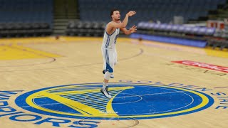Who Can Make a Half Court Shot First in the Curry Family? Seth, Steph, or Dell? Funny NBA2k Gameplay