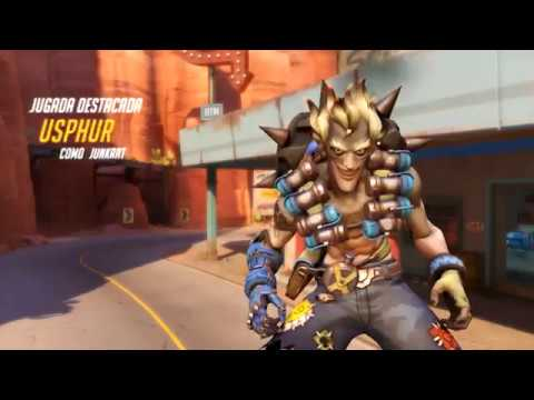 OVERWATCH - PotG Junkrat - FIRING IN THEIR GENERAL DIRECTION