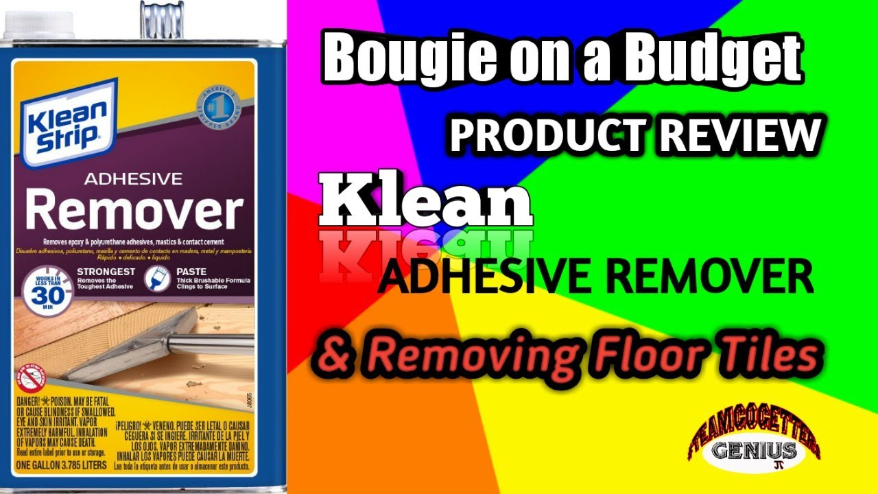 How Too Adhesive Remover On Removing Floor Tiles Must Watch Youtube