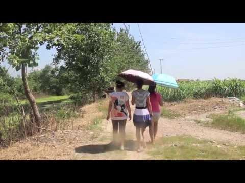 Village visit in China