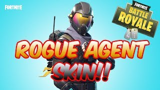 Fortnite Battle Royale - NEW ROGUE AGENT SKINMD - FORTNITE STARTER PACK!! - HALO SKIN?!