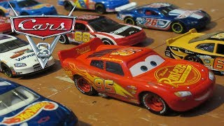 Cars 3 - First Race (stop motion)