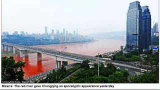 Nibiru? End Times? River Turns Red in China Sept. 2012