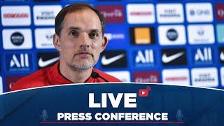 VIDEO: Conférence de presse de Thomas Tuchel et Thilo Kehrer avant AS Monaco Paris Saint-Germain