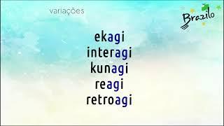 AGI verbo em Esperanto