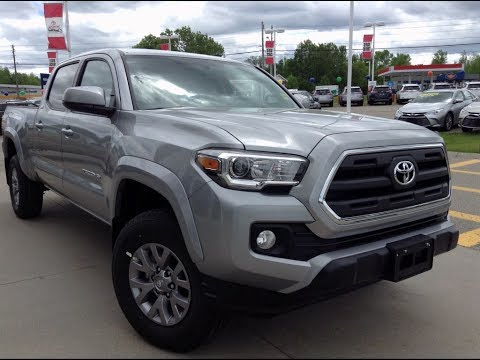 New 2017 Toyota Tacoma Dbl Cab Sr5 Review Silver 1000 Islands Brockville You
