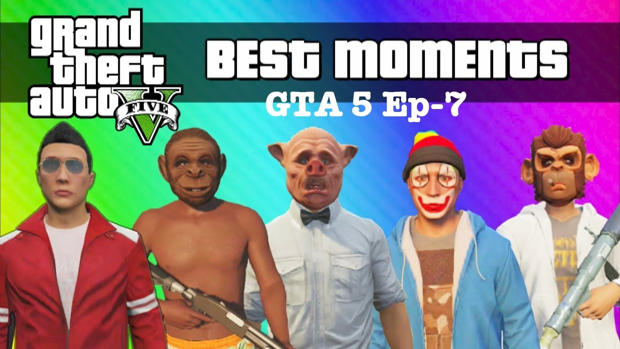 Download VanossGaming GTA 5 Online Best Funny Moments Ep-7 3Hours Vid | VanossGaming Funny time