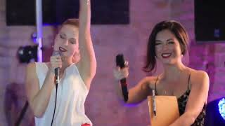 Нюша с сестрой Машей и братом Ваней поют песню для своего отца Владимира Шурочкина
