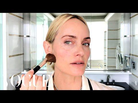 1990s supermodel legend Amber Valetta shares beauty routine
