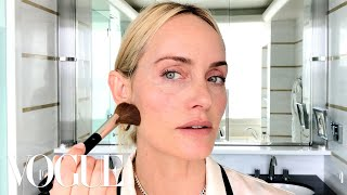 Amber Valletta's Secret to Her Natural Supermodel Glow | Beauty Secrets | Vogue