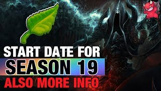 Diablo 3 Season 19 Start Date Patch 2.6.7