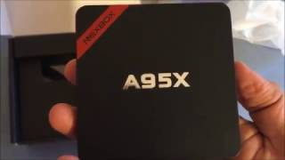 NEXBOX A95x review and comparison to M96X, T95X, ABOX, MXQ etc (Android TV box)