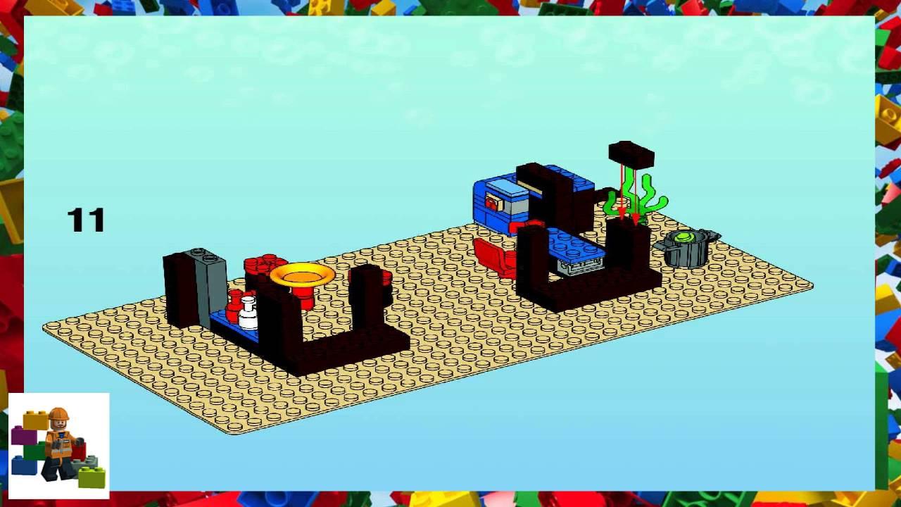Lego Instructions Spongebob 3825 Krusty Krab Youtube
