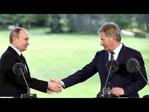 Presidente da Rússia admite diálogo com NATO mas avisa Finlândia