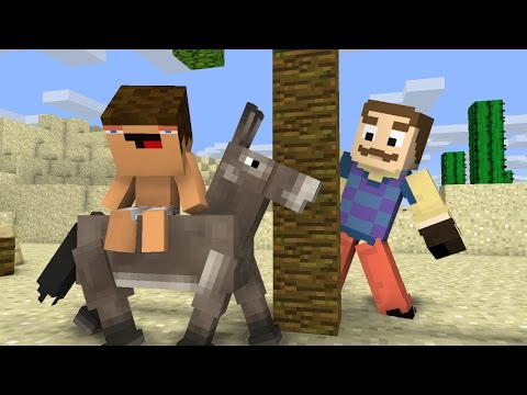 Neighbour Encounter - Minecraft Animation (Noob Life Series)