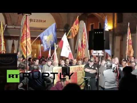 Italy: Venetians push for independence at Treviso rally