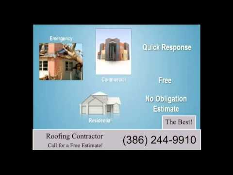 Daytona beach Roofing contractor also serving flagler and volusia counites.