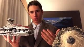 Новогодний Обзор! Lego Star Wars Venator Republic Cruiser 8039