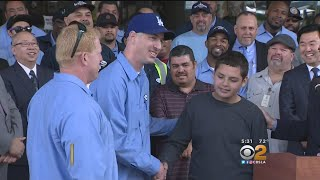 L.A. Sanitation Workers Praised As Heroes For 'Easter Miracle' Rescue Of Boy Stuck In Sewer Pipe