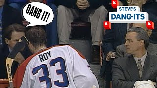 NHL Worst Plays Of All-Time: You Left Patrick Roy In For NINE Goals!? | Steve's Dang-Its
