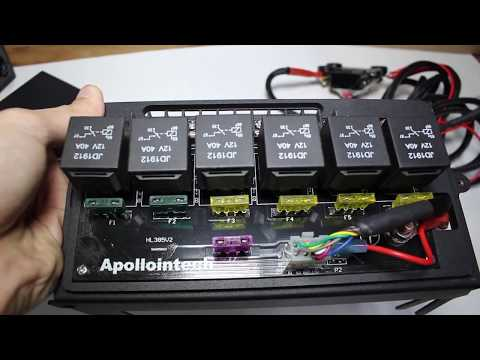 APOLLOINTECH Switch Panel Install And Review 2007-2017 Jeep Wrangler Jk