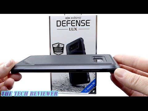X-Doria Defense Lux for Galaxy S8: Military Grade Protection with Machined Aluminum!