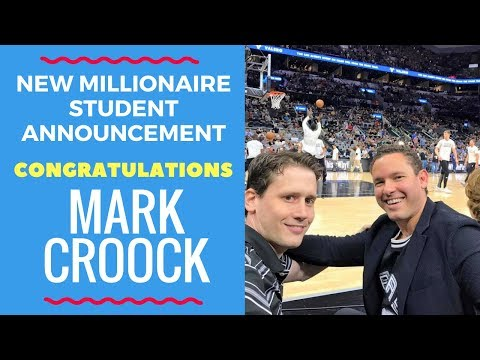 New Penny Stock Millionaire Challenge Announcement: Congratulations Mark Croock!