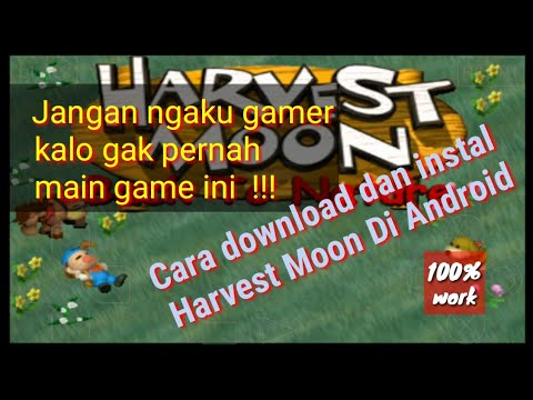 Cara Download Dan Instal Harvest Moon Back To Nature | Android