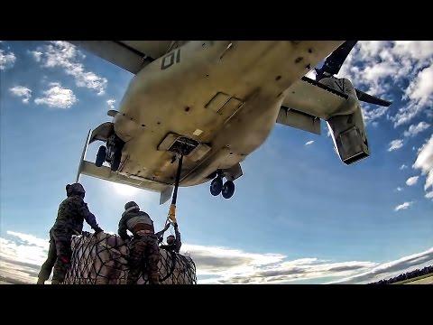 MV-22 Osprey • External Lift Training