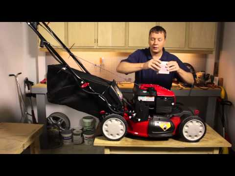 How to Replace the Battery in an Electric Start Lawnmower : Lawnmower Maintenance & Repair