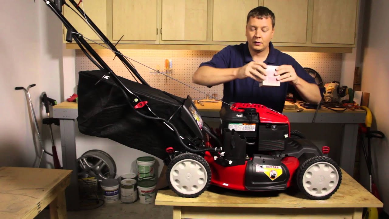 Electric Lawn Mower Motor Troubleshooting Black And Decker Mm850 Wiring Diagram How To Replace The Battery In An Start Lawnmower
