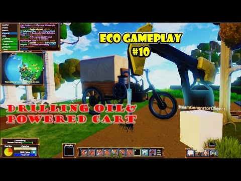 Eco 5.5 Gameplay Episode 10 | Pump jack | powered cart |