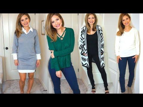 Venus Clothing Haul   Sweaters, Sweater Dresses & Figure Flattering Jeans!?!