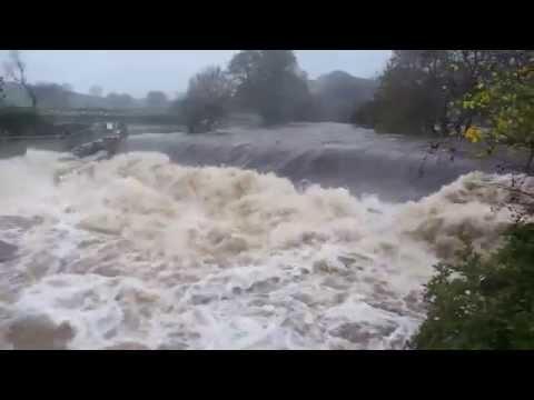 Ribble in Flood 9th November 2015