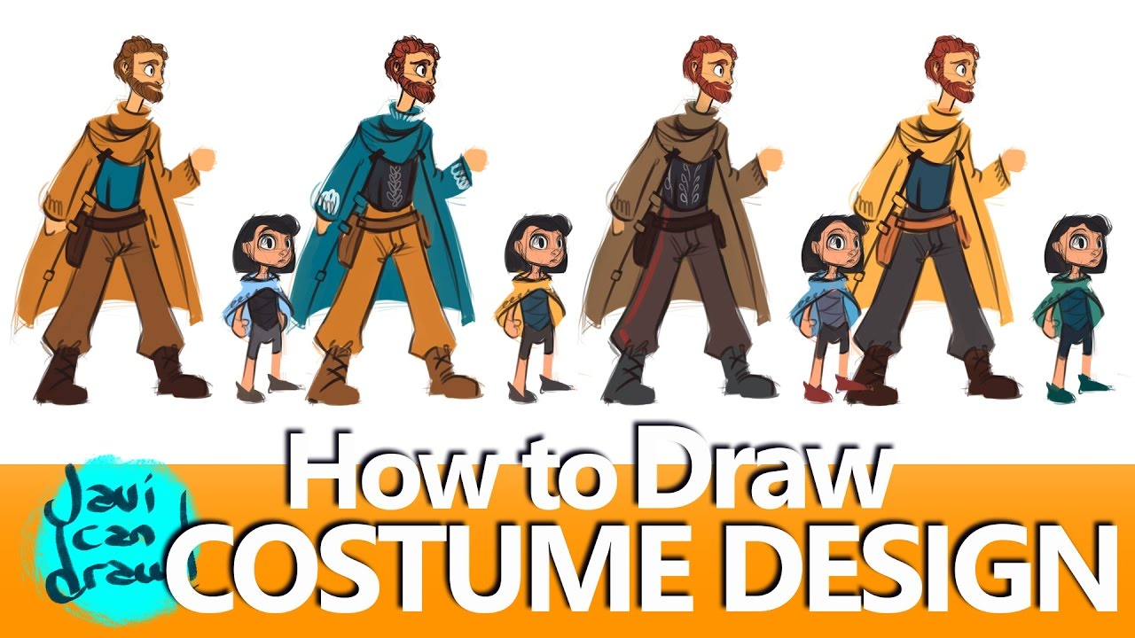 Creating A Color Palette For A Costume Design Youtube