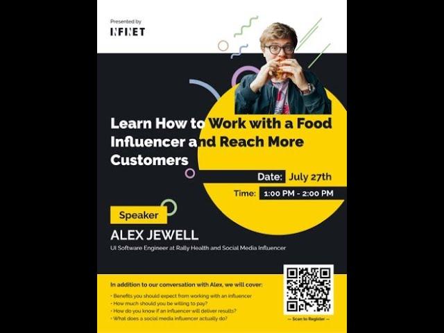 VIDEO: Digital Marketing for Restaurants - Food Influencers 101