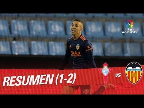 Resumen de RC Celta vs Valencia CF (1-2)