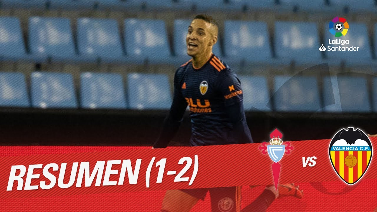 Resumen de RC Celta vs Valencia CF (1-2) - YouTube