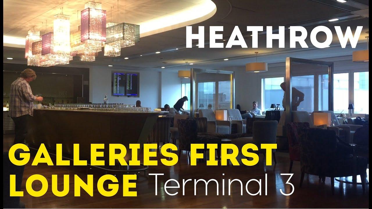 Ba Lounge Terminal 3 >> Galleries First British Airways Lounge Heathrow Terminal 3