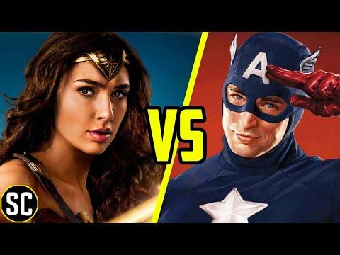 Wonder Woman Vs Captain America: First Avenger - SCENE FIGHTS!