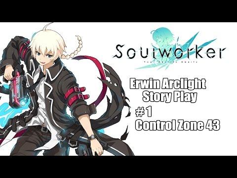 [SoulWorker KR] Erwin Arclight Control Zone 43 Story / 어윈 아크라이트 컨트롤존 43 스토리
