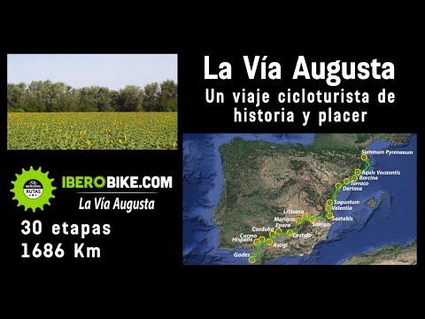 ¿la-mejor-ruta-cicloturista-de-españa?-30-etapas,-1686-km-la-vía-augusta,-historia-y-paisajes