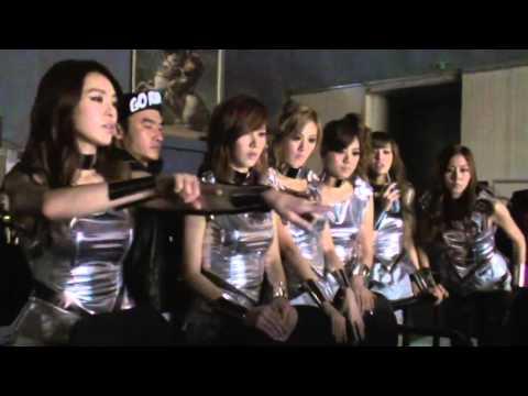 After School - Rambling Girls (Japanese Music) PV MAKING MOVIE