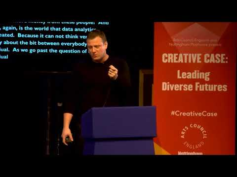 Chris Michaels - The Known Audience: Data and Diversity | Creative Case: leading diverse futures