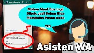 Ini Baru TRik Keren !!! Balas Pesan Otomatis di WhatsApp