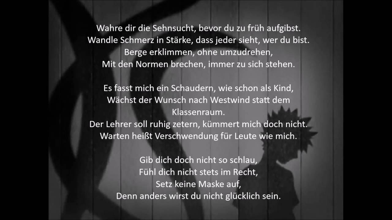 Naruto WIND – Deutsche Lyrics zum Nachsingen