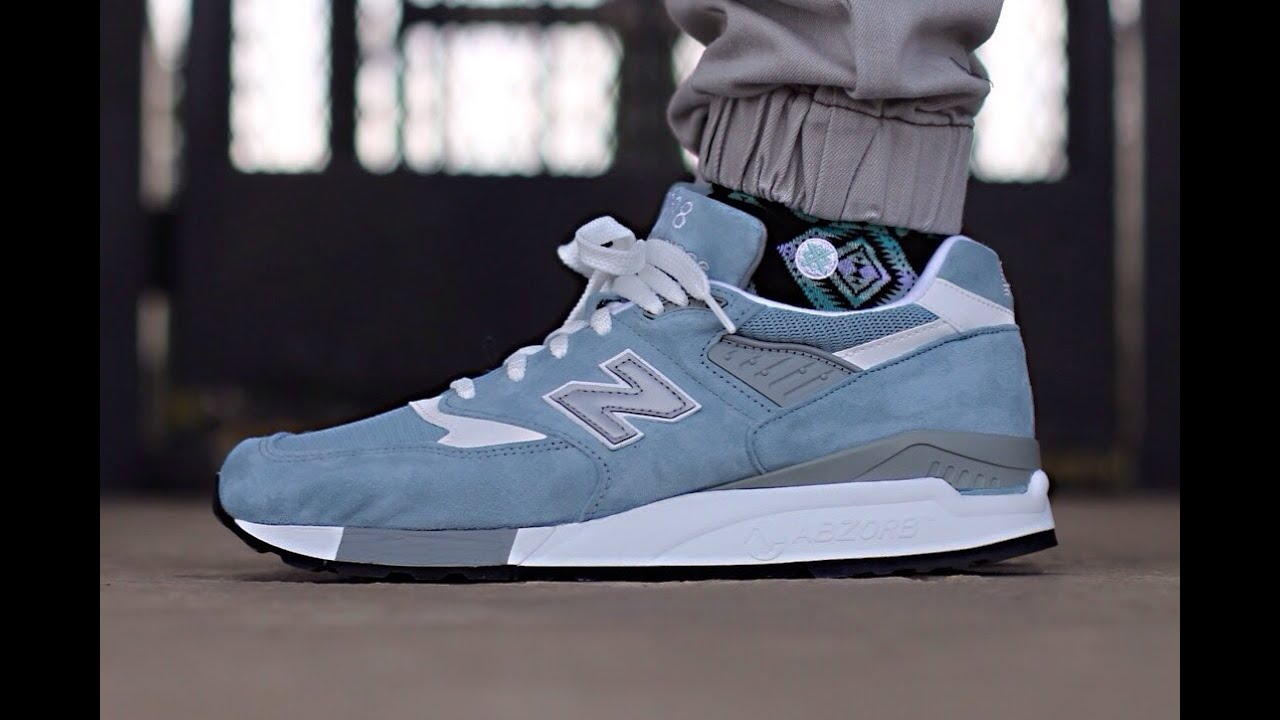 New Balance 998 Light Green