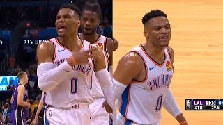 Russell Westbrook finishes w/ the NBA's first 20/20/20 game since Wilt Chamberlain in 1968
