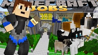 Minecraft Jobs - PUPPY PET STORE!!!