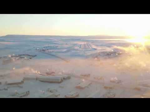 Approach to Pond Inlet Nunavut
